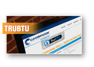 TruBTU Heating Calculator - Cambridge Engineering