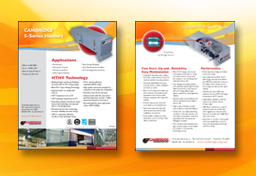 Cambridge Engineering Product Flyers