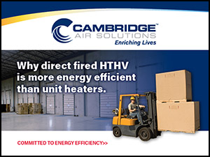 Direct Fired HTHV Heaters are More Energy Efficient Than Other Heaters - Cambridge Air Solutions