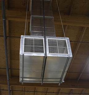 Evaporative Cooling Unit Drop Through Install - Cambridge Air Solutions®