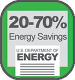 DOE study confirms HTHV savings using Cambridge Engineering Energy Efficient Heaters