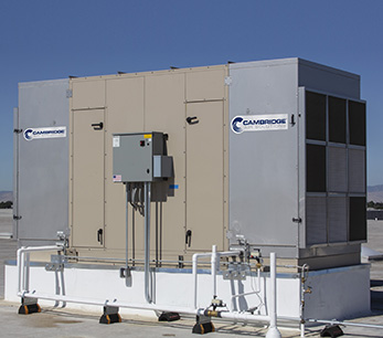 Rooftop Evaporative Cooling Unit Install-3 - Cambridge Air Solutions®
