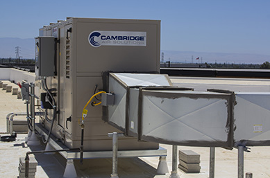Rooftop Evaporative Cooling Unit Install - Cambridge Air Solutions®
