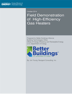 DOE Study Of High Energy Efficiency Gas Heaters - Cambridge Air Solutions